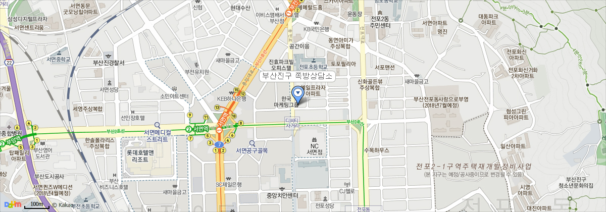 부산광역시 부산진구 동천로 108번길 3 2층,3층